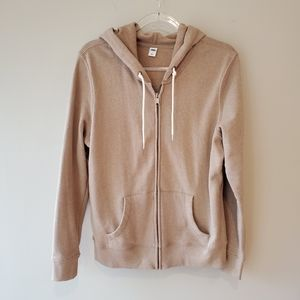 Old Navy hoodie tan size large